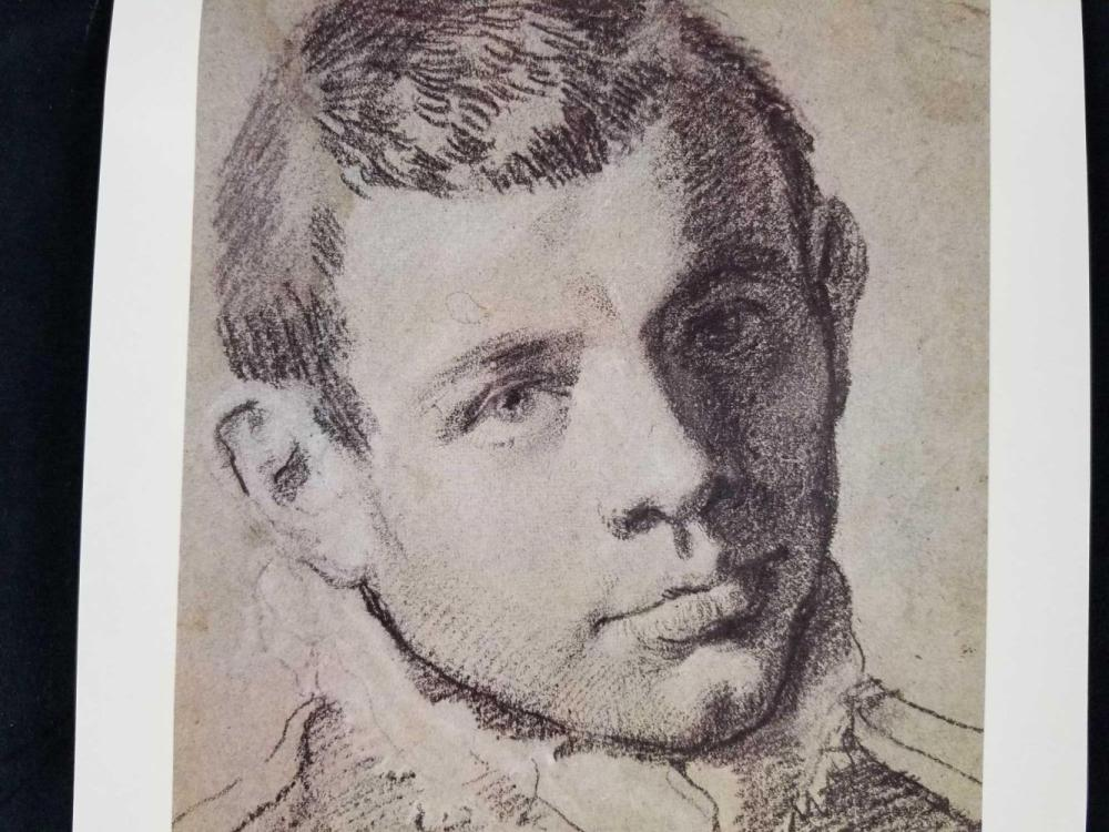 Lot 61: Self Portrait Prints of Giovanni Lorenzo Bernini and Annibale Carracci Published by Royal Library Windsor Castle