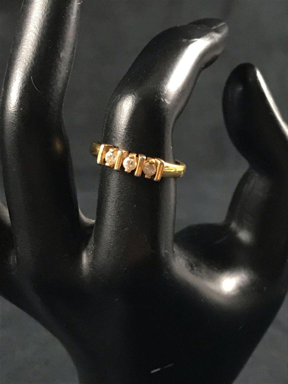 Lot 65: Vintage Gold Toned Cocktail Ring