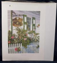Lot 72: Limited Edition Print from Original Phil Capen Artwork Signed and Numbered