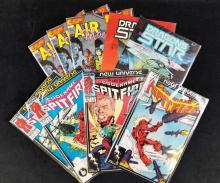 Lot 74: Lot of 9 Codename Spitfire Air Maidens Special And Dragon Star Comics