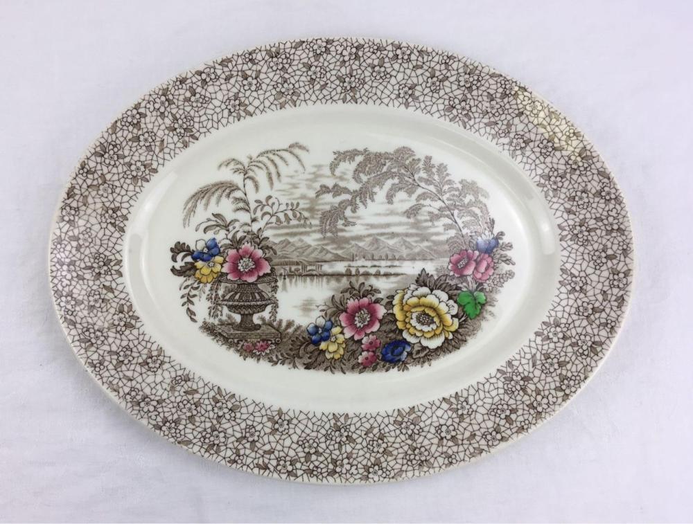 """Lot 86: Myott Staffordshire 16"""" Serving Platter"""