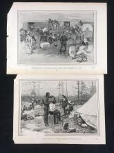 Lot 88: FC Yohn and WR Leigh Book Illustrations and Pictures