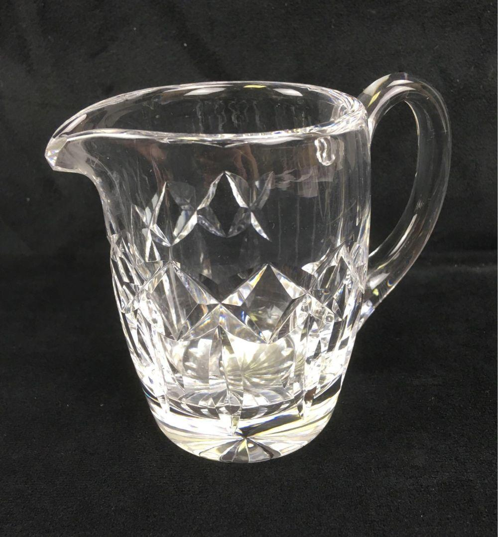 Lot 90: Vintage Waterford Glass Crystal Creamer