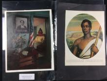 Lot 92: Anti Slavery Book Clippings