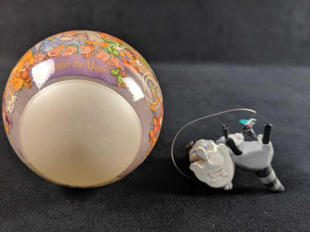 Lot 306: Lot Of Two Retired Disney Ornaments