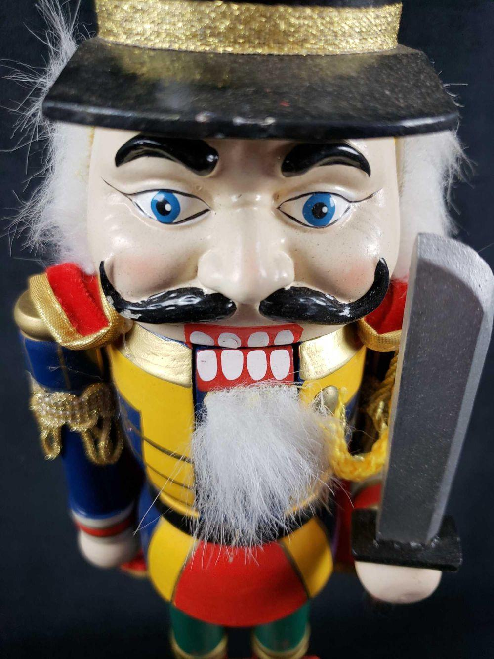 Lot 311: Wooden Christmas Nutcracker