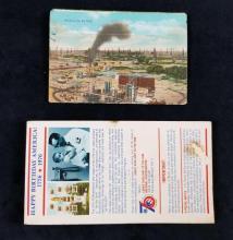 Lot 329: Lot of 2 Vintage American Souvenir Postcard Booklets