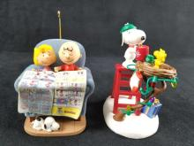 Lot 337: Hallmark Peanuts Keepsake Christmas Ornaments Lot of 3