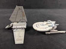 Lot 340: Lot Of Two Star Trek And Star Wars Ornaments Retired