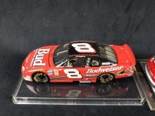 Lot 353: Lot of 3 Number 8 Dale Earnhardt Jr Budweiser Die Cast Model Cars