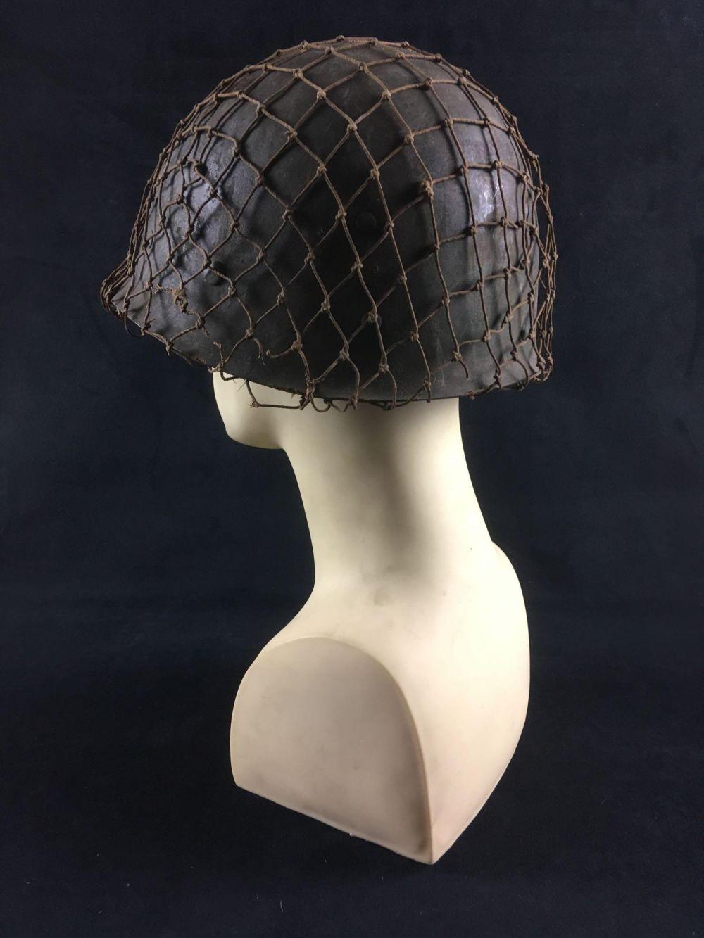 Lot 356: Military Memorabilia US Army M 1 Helmet Liner by CAPAC