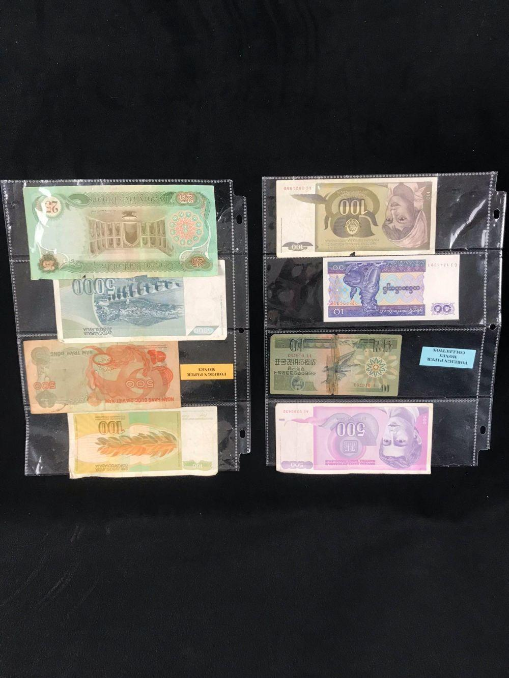 Lot 360: Foreign Paper Money Collection