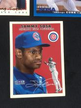 Lot 362: Lot of 3 Sammy Sosa Baseball Cards Circa 1990s