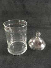 Lot 365: Retro Glass Storage Containers