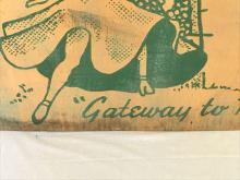 Lot 367: Painted Plywood Sign For The Hamilton Hotel Laredo Texas