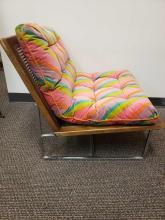 Lot 373: Mid Century Modern Rainbow Chair