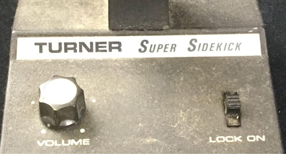 Lot 392: Vintage CB, HAM Base Station Microphone on Stand. Turner Super Sidekick