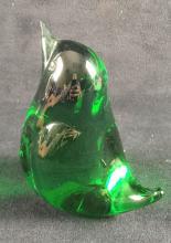 Lot 396: Vintage MuranoArt Glass Song Bird