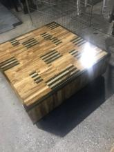Lot 407: Italian Made, Low Mid-Century Style Coffee Table