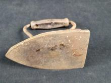 Lot 408: Vintage No6 Cast Flat Iron