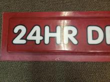 Lot 411: Vintage Fast Food Drive Thru Sign