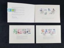 Lot 421: Collection of US and International Postal Stamps and Covers 27 Pieces 56 Stamps 6 Tax Stamps