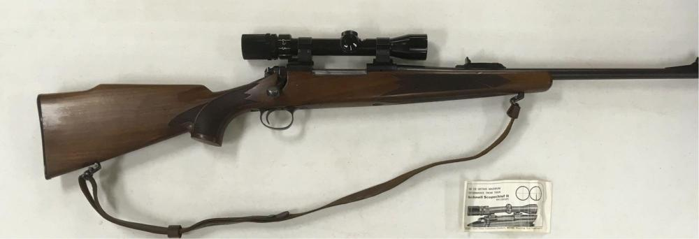 Lot 429: Remington Model 700 ADL Rifle with Bushnell Scope