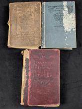Lot 440: Antique Books Lot of 3