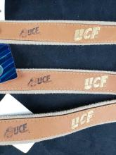 Lot 441: Set of 3 Zep Pro UCF Leather Belts