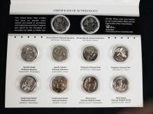 Lot 459: 2 America The Beautiful Uncirculated Coin Sets 2018 2019