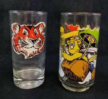 Lot 464: Set of 2 Nostalgic Cartoon Glasses