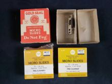 Lot 470: Vintage Carl Zeiss Microscope Box and Contents