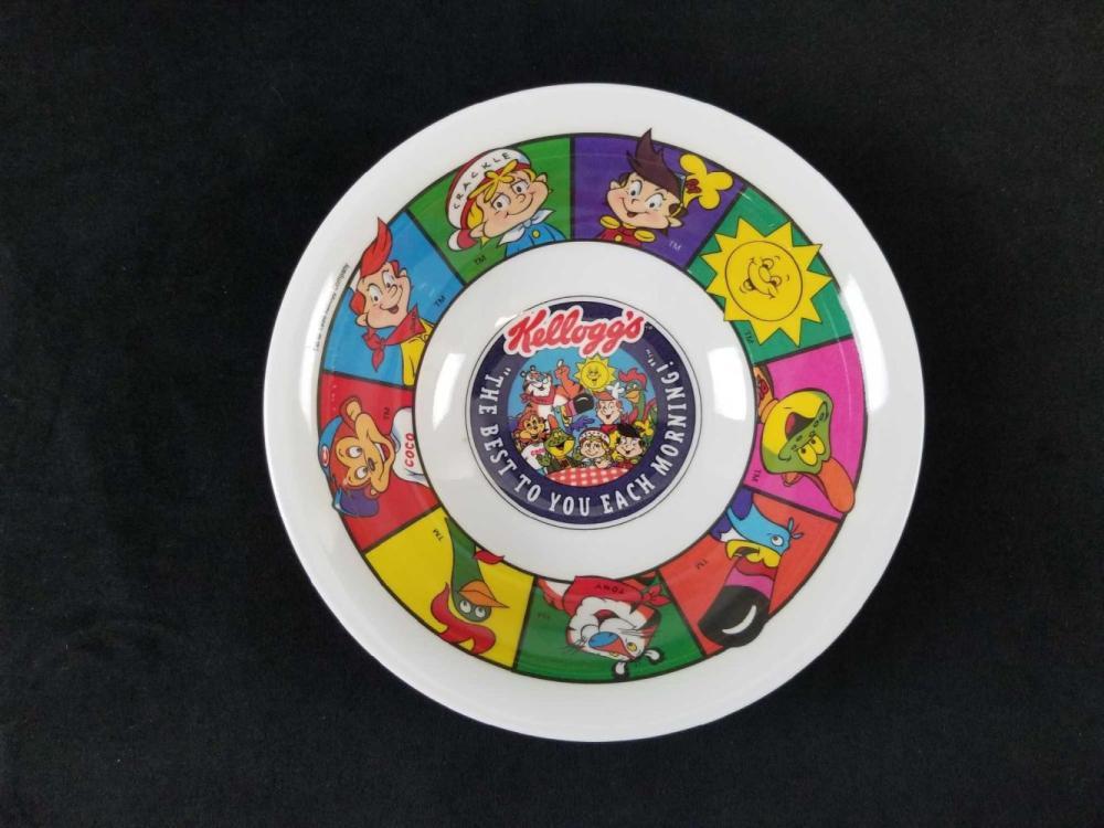Lot 473: Set of 3 Nostalgic Kelloggs Cereal Mascot Breakfast Items