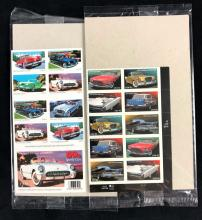 Lot 665: Collection of United States Postal Service Automobile Collectors Stamps