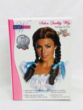 Lot 684: NOS - Secret Wishes - Dorothy Wizard of Oz Wig Halloween Accessory