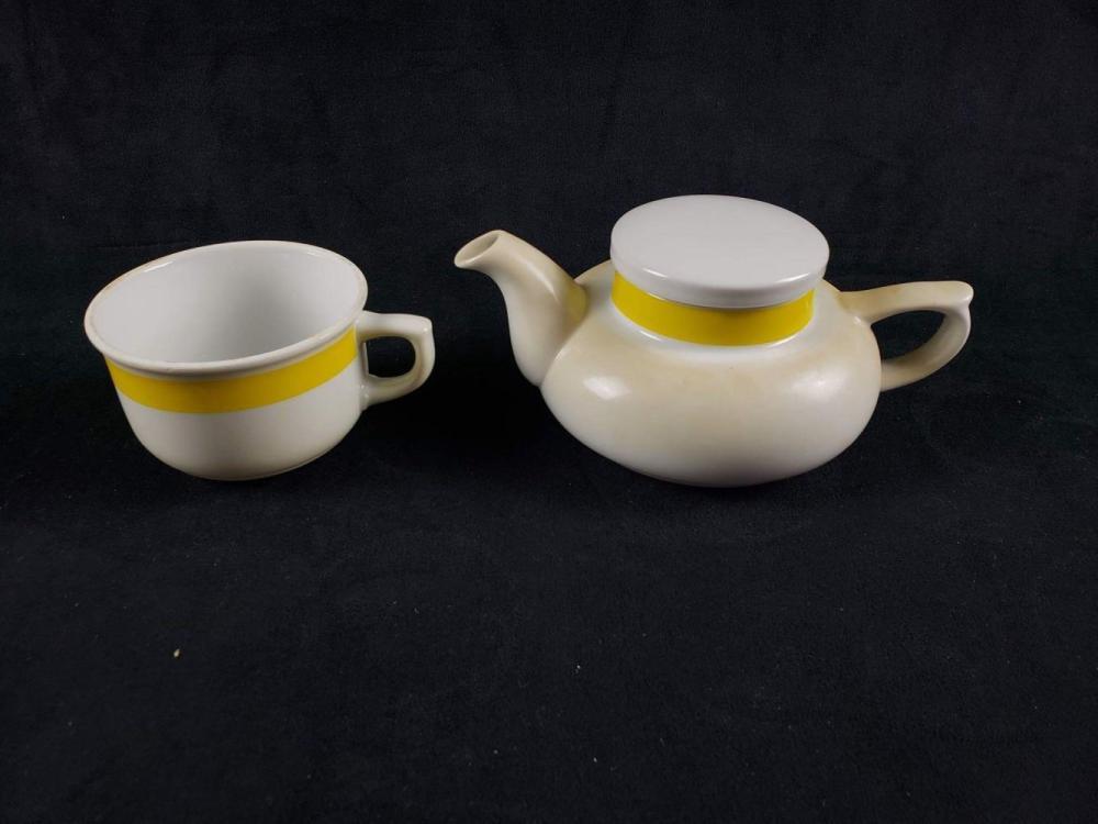 Lot 692: Vintage Mid Century Small Tea Set