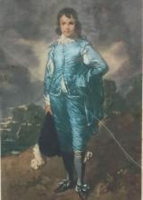 Lot 696: Vintage Blue Boy Winifred Jones Mezzoprint