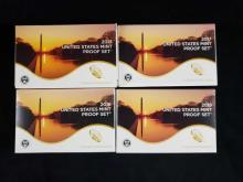 Lot 695: 4 United States Mint Proof Sets 2013 2017 2018 2019 A