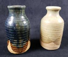 Lot 707: Set of 2 Stoneware Jugs