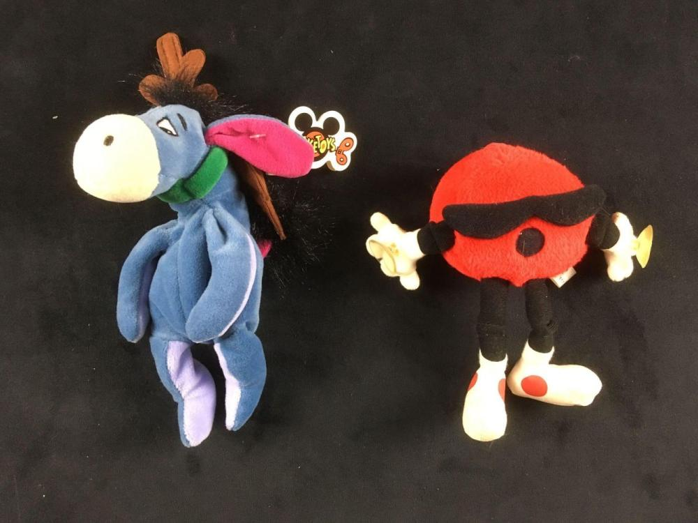Lot 710: Lot of 5 Vintage Plush Toy Collectibles
