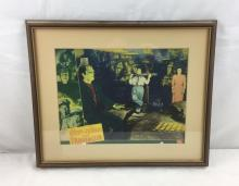 Lot 714: Original Abbot & Costello Film Lobby Window Card