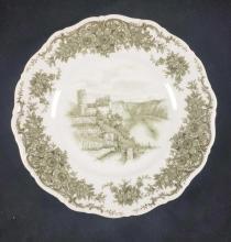 Lot 724: Seltmann Weiden Castle Porcelain Plate