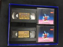 Lot 732: Walt Disney Fantasia Deluxe Collectors Edition VHS/CD Boxed Set