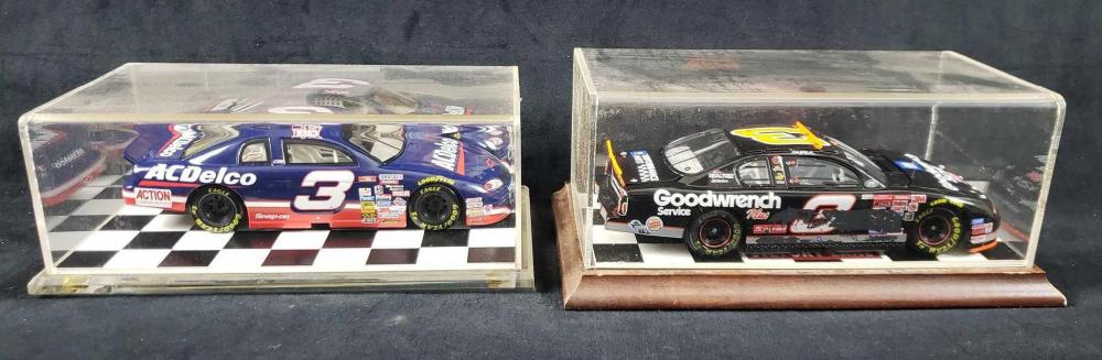 Lot 729: 2 Number 3 Dale Earnhardt Monte Carlo Model Cars