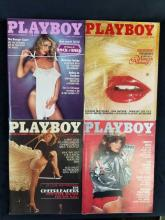 Lot 736: Playboy Magazines 11 Issues 1979