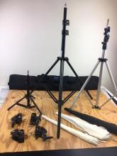 Lot 741: Collection of High Quality Photograph Studio Portrait Lighting Equipment