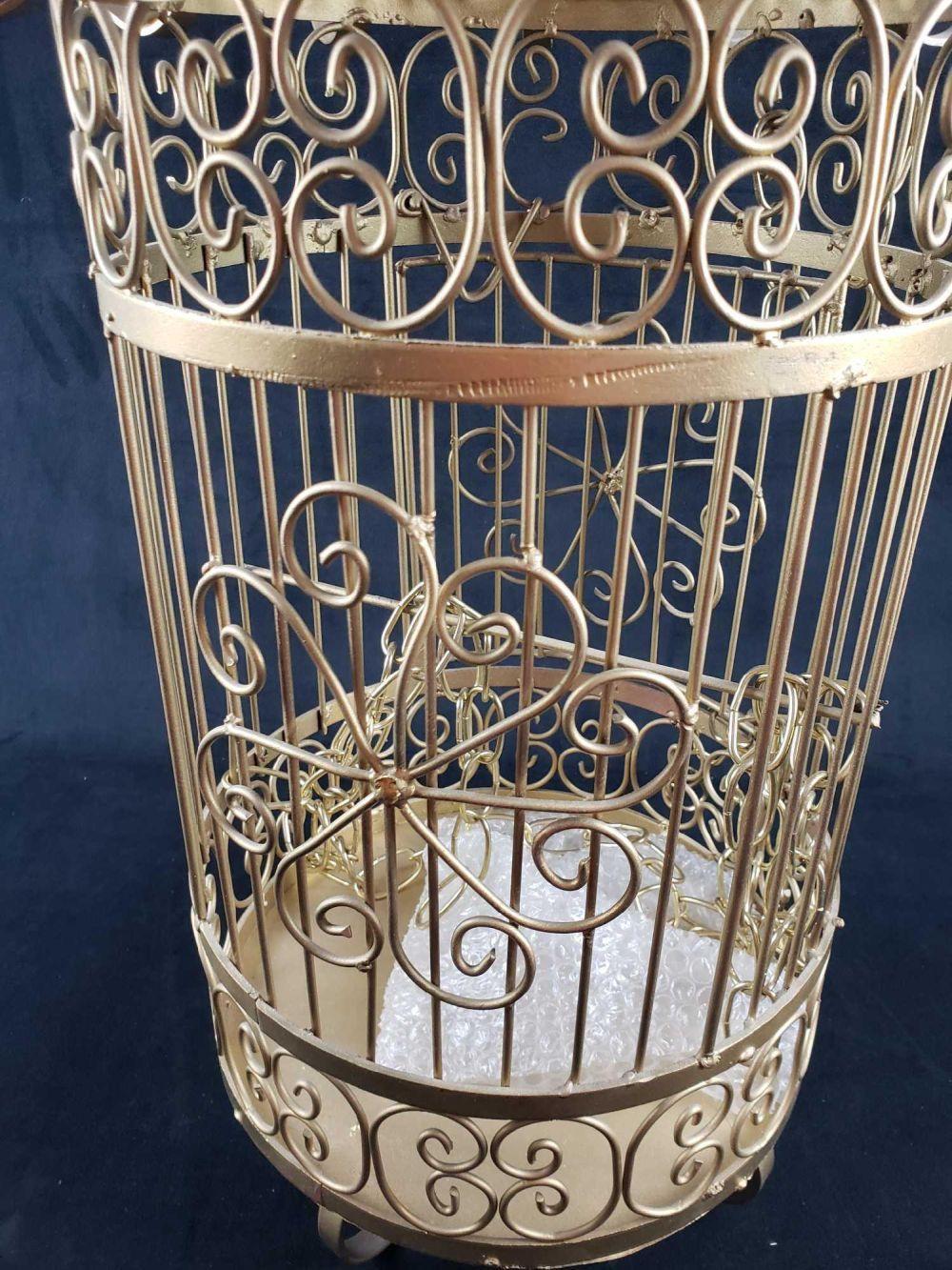 Lot 738: Mid Century Mexican Bird Cage