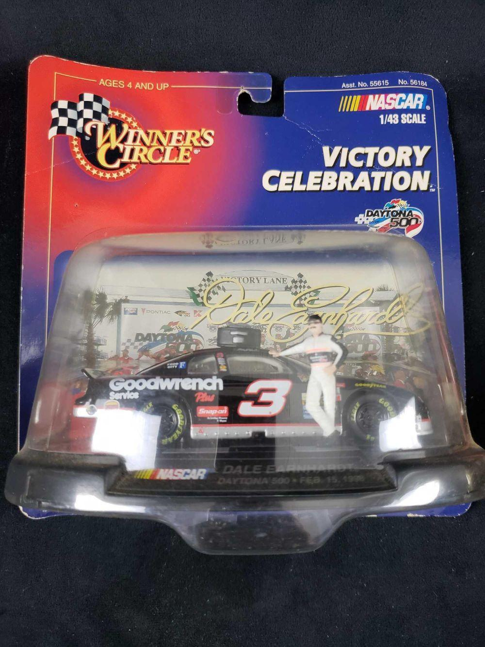 Lot 751: Set of 2 Winners Circle Number 3 Dale Earnhardt Model Cars