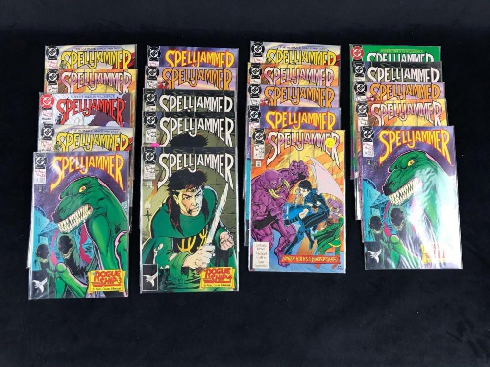 Lot 753: Vintage Spelljammer Comic Book Collection
