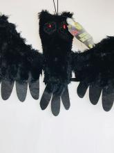 Lot 759: NOS - Screaming Fuzzy Bat - Halloween Decor